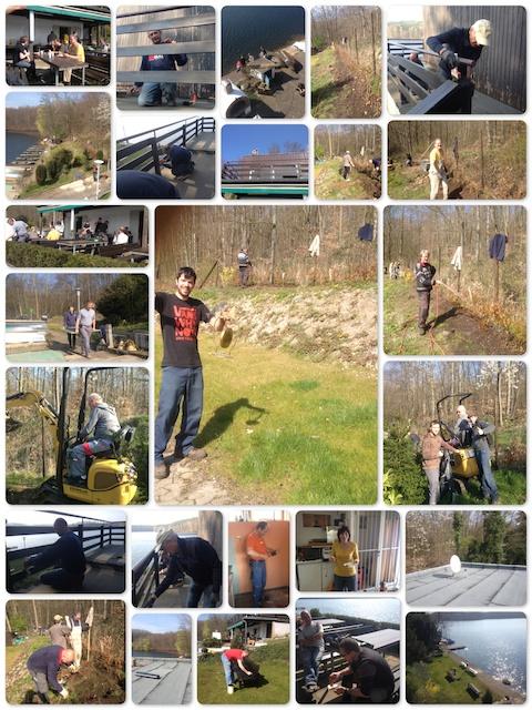 Fotos vom ersten Arbeitsdienst 2014